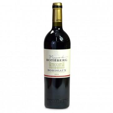Marquis de Rothberg  Bordeaux 750ml bottle