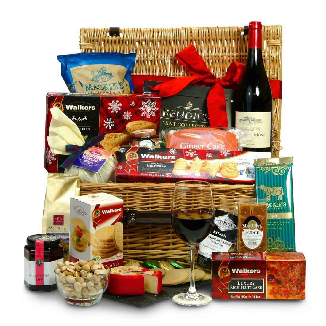 Wine and Cheese Hampers