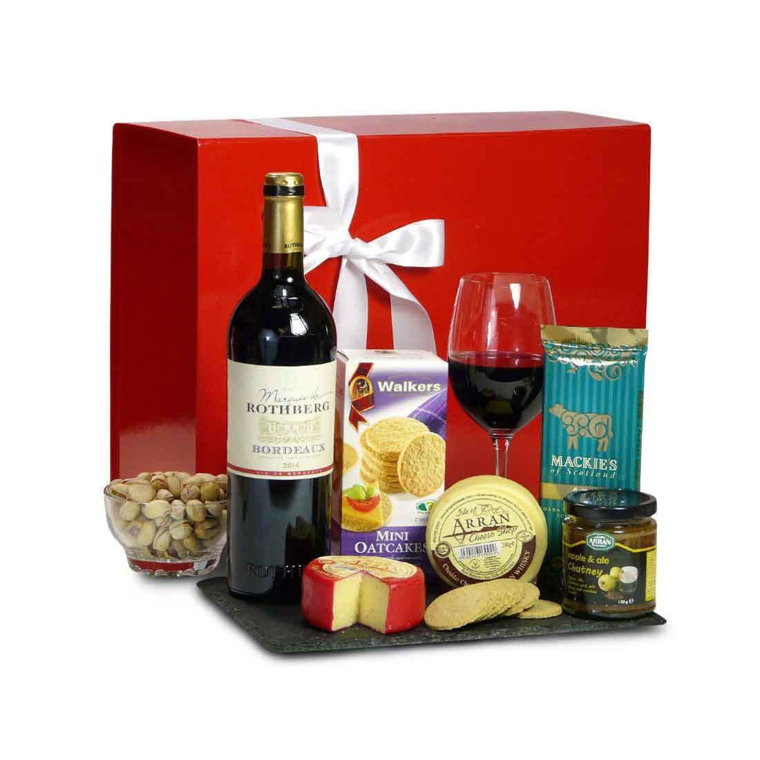 Cheese and Wine Hampers
