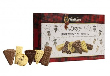 Walkers Luxury  Shortbread Selection 250g