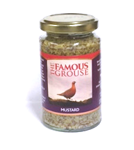 Famous Grouse Scotch whisky mustard