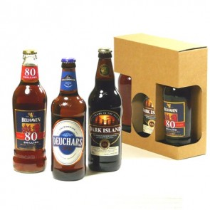 3 Bottle Pack of Scottish Ales