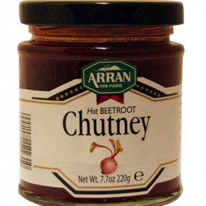 Arran Hot Beetroot Chutney 220g