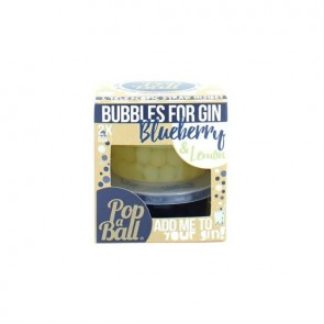 Bubbles for gin