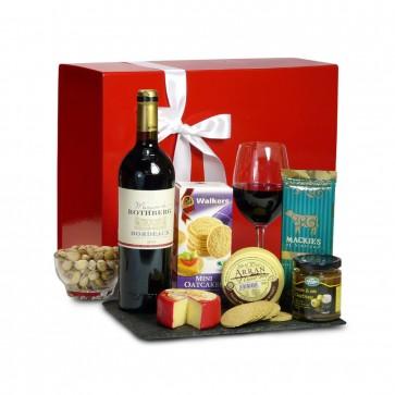 Eriskay Cheese and Wine Hamper