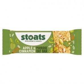 Stoats Apple & Cinnamon Porridge Bar